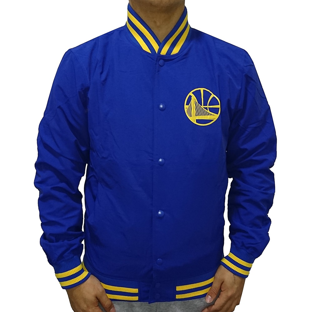 8ae4f8e49997f New Era Team Golden State Warriors Pop Logo Varsity Jacket