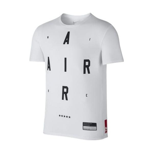 89dc0fc34b265 Nike Camiseta Air Brand Mark 2 (100 white black)