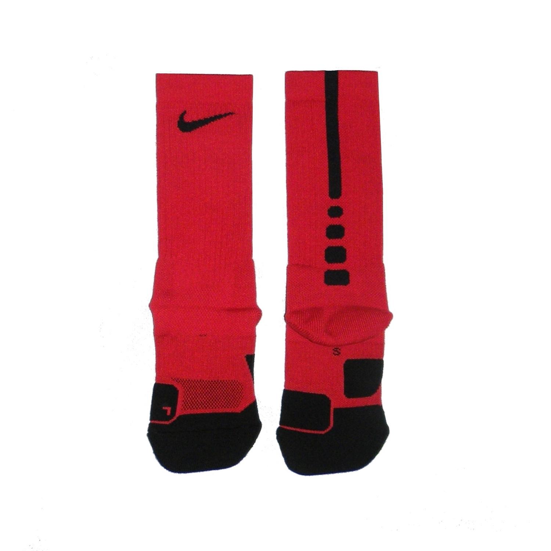 peso peine gatear  Nike Dry Elite 1.5 Crew Basketball Sock (657/university red/blac