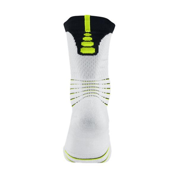 e2815a62dc0 Nike Elite Versatility Crew Rio (100 white black volt)