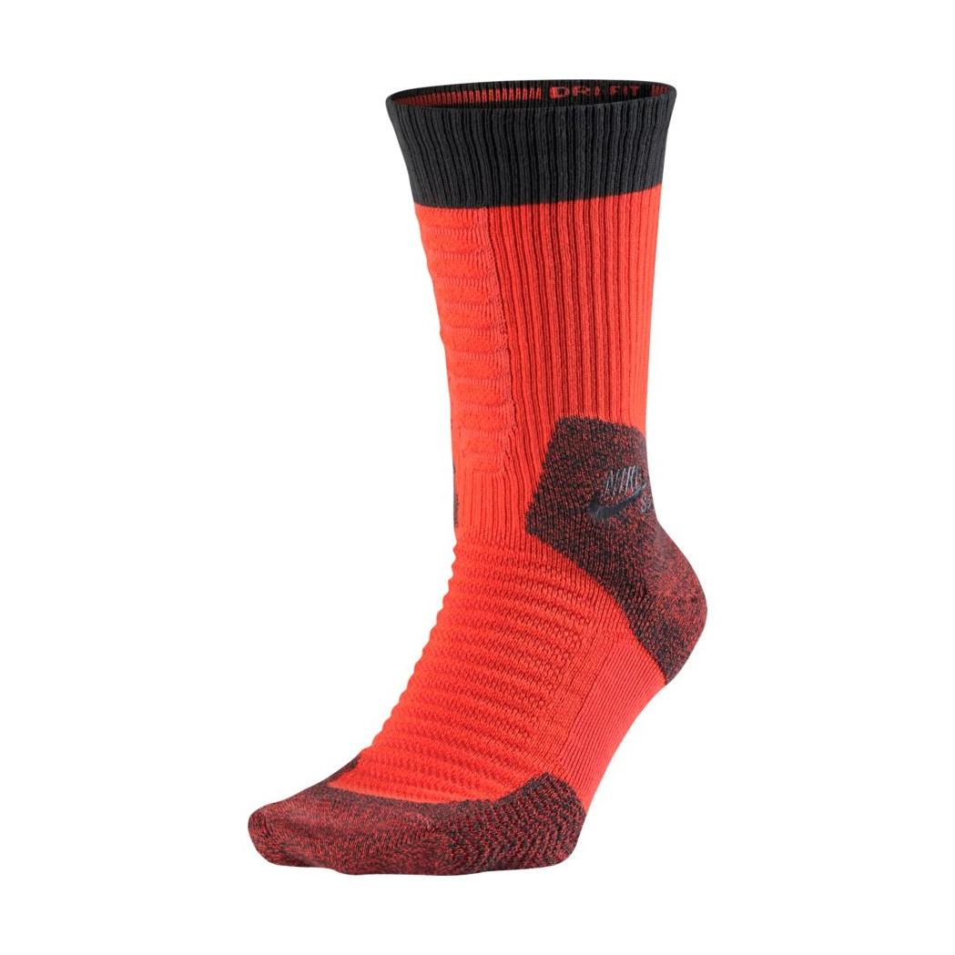 Nike SB Elite 2.0 Crew Sock (852 max orange anthracite) 444d9d2ec