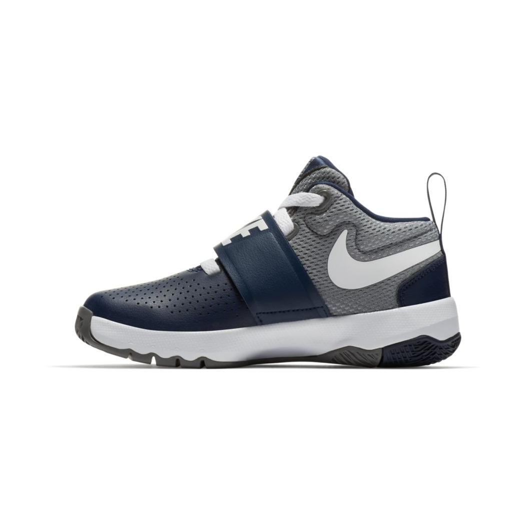 Nike, Zapatillas de Deporte para Niños, Gris (Cool Grey/White-DP Royal Blue), 40 EU