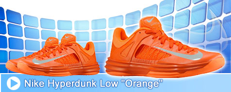 Nike Hyperdunk Low Orange
