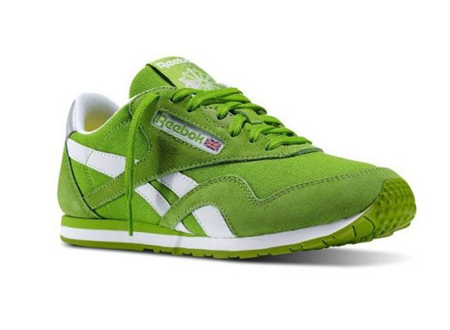 59484944fd9c3 Reebok Classic Nylon Slim Pop (Verde Blanco)