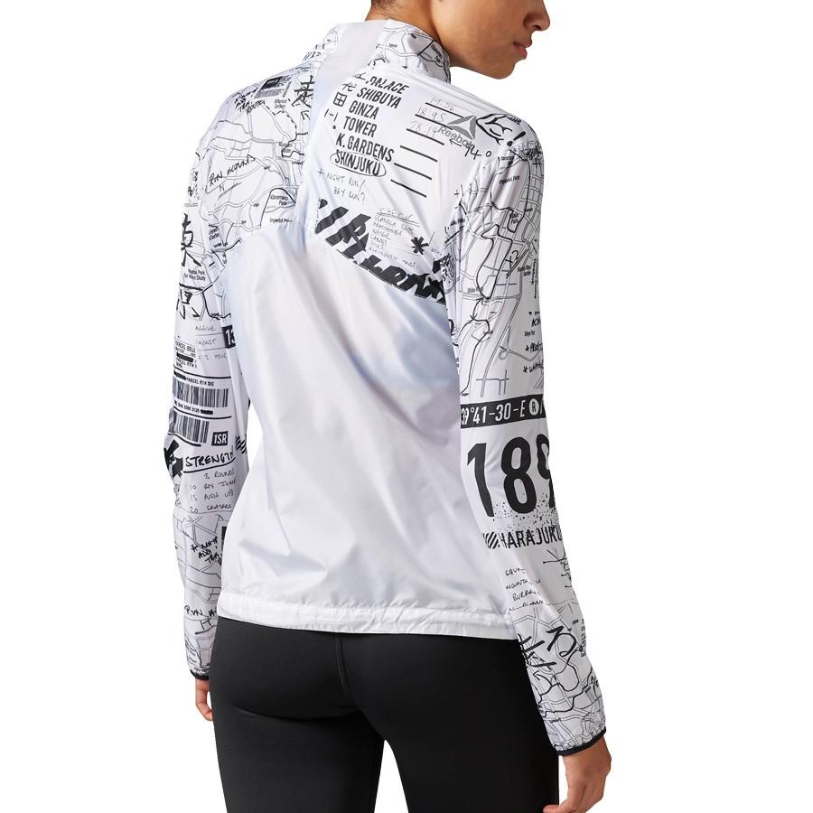 Running Reebok Woven white Jacket Osr Woman´s HHqRrdxP