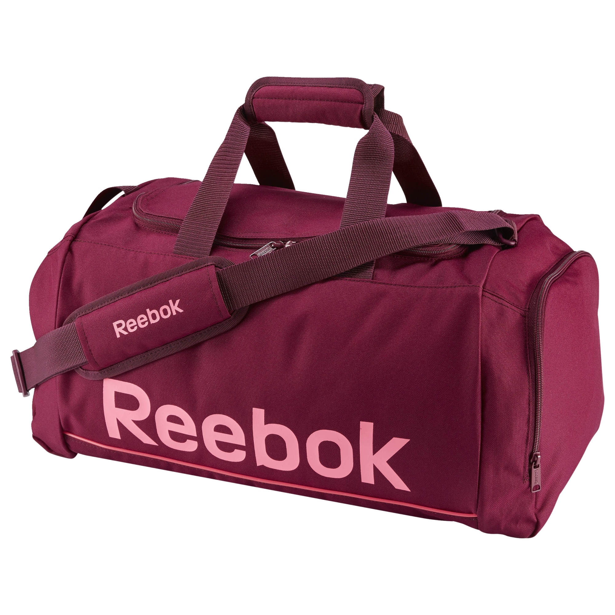 Reebok Sport Royal Small Grip Bag Rebel Berry